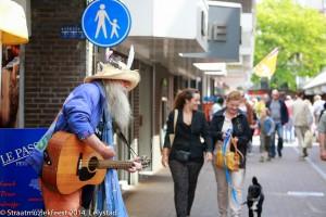 Hans Baart - Straatmuziekfeest Lelystad 2014
